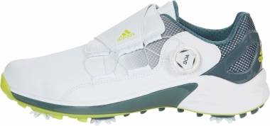 Adidas ZG21 BOA - White/Acid Yellow/Blue Oxide (FW5554)