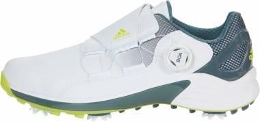 Adidas ZG21 BOA - White/Acid Yellow/Blue Oxide (FW5554)