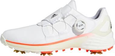 Adidas ZG21 BOA - Footwear White/Core Black/Solar Red (G57764)