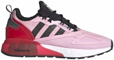 Adidas Ninja ZX 2K Boost - True Pink / Core Black / Scarlet (FZ0454)