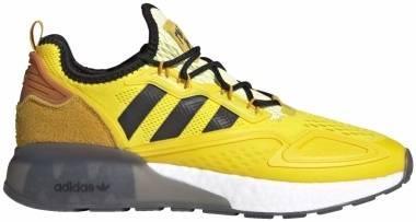 Adidas Ninja ZX 2K Boost - Yellow / Legacy Gold / Tech Copper (FZ1882)