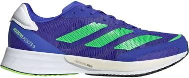 Adidas Adizero Adios 6 - Sonic Ink / Screaming Green / Ftwr White (H67510)