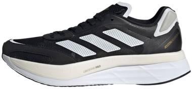 Adidas Adizero Boston 10 - Core Black Ftwr White Gold Met (H67513)