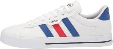Adidas Daily 3.0 - White/Team Royal Blue/Vivid Red (H04578)