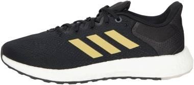 Adidas Pureboost 21 - Core Black / Gold Metalic / Grey Six (GZ3004)