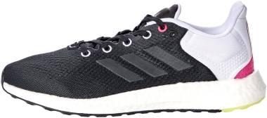 Adidas Pureboost 21 - Black/Grey/Pulse Yellow (GX8088)