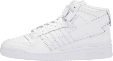 Adidas Forum Mid - Ftwr White Ftwr White Ftwr White (FY4975)