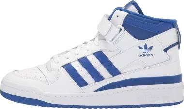 Adidas Forum Mid - Cloud White / Royal Blue / Cloud White (G57985)