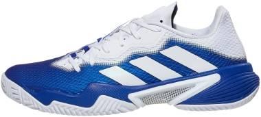 Adidas Barricade - Royal Blue / Cloud White / Silver Metallic (FZ3936)