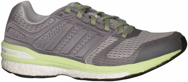 Adidas Supernova Sequence Boost 8 woman grey (clear grey s12/ftwr white/frozen yellow f15)