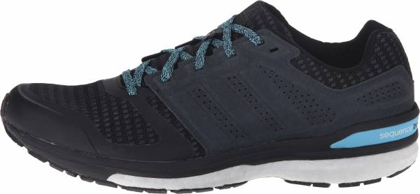 Adidas Supernova Sequence Boost 8 woman black - schwarz (core black/core black/bright cyan)
