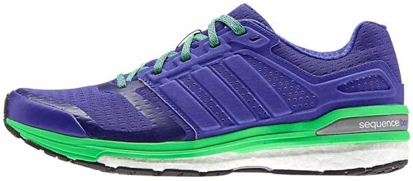 Adidas Supernova Sequence Boost 8 woman night flash/green