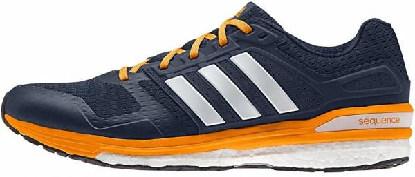 Adidas Supernova Sequence Boost 8 - Mehrfarbig (Collegiate Navy Blau/Weiß/Eqt Orange)