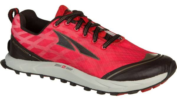 Altra Superior 2.0 woman poppy red/chocolate