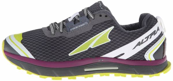 Altra Lone Peak 2.0 Dark Gray/Lime/Purple