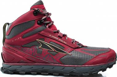 check out e96df 79fe2 Altra Lone Peak 4.0 Mid Mesh Red Men