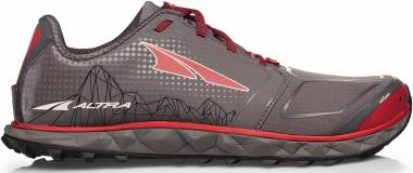 Altra Superior 4.0 - Gray/Red