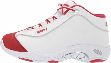 AND 1 Tai Chi - White/Chinese Red/Silver (1055)