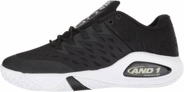 AND 1 Attack Low - Black (0260)