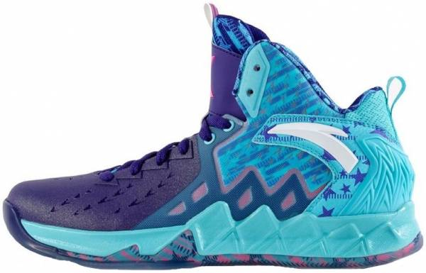 Anta KT 2 - All Star-turquoise/Purple/Pink