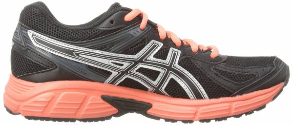 Asics Gel Patriot 7 Schwarz (Black/Living Coral/Onyx 9076)