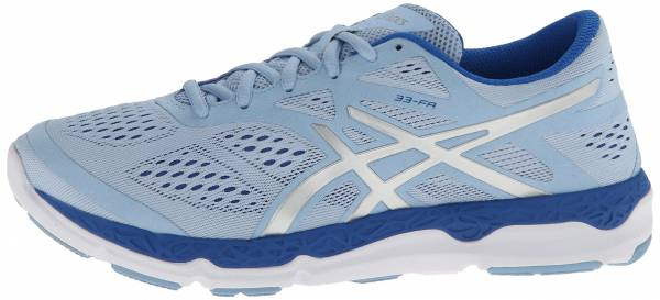Asics 33-FA woman powder blue/lightning/blue