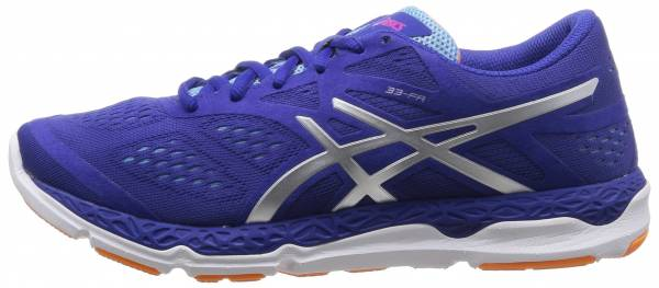 Asics 33-FA woman blau (atomic blue/flash yellow/blue 4807)