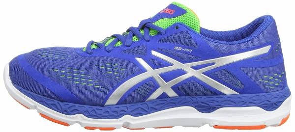 Asics 33-FA men bleu (blue/silver/flash green 4293)