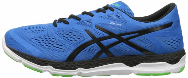 Asics 33-FA men blue/black/flash green