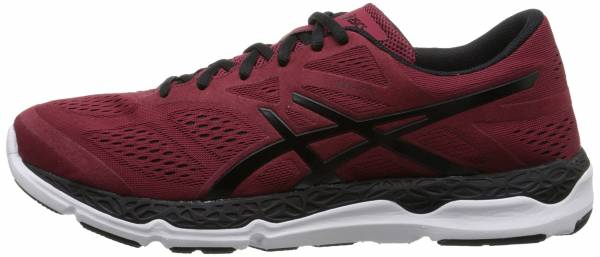 Asics 33-FA men deep ruby/black/white
