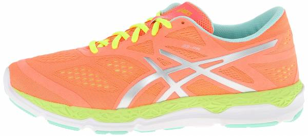 Asics 33-FA woman coral/flash yellow/mint