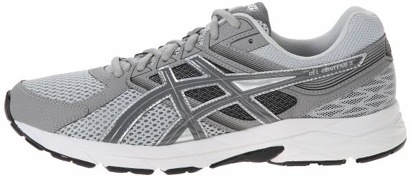 Asics Men S Gel Contend  Running Shoe Light Grey Titanium