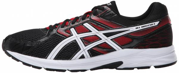 Asics Gel Contend 3 men onyx/snow/racing red