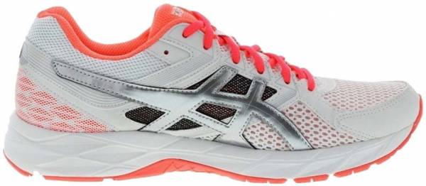 Asics Gel Contend 3 woman white / hot coral / silver