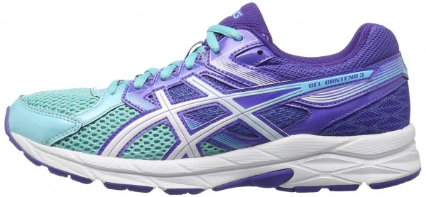 Asics Gel Contend 3 woman turquoise/white/acai