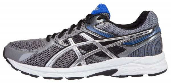 Asics Gel Contend 3 men charcoal/silver/turkish sea