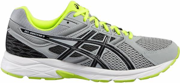Asics Gel Contend 3 men multicolor (midgrey/black/safety yellow)