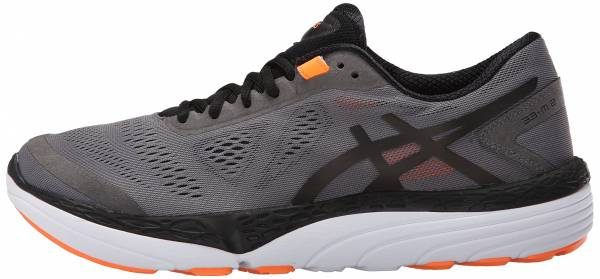 Asics 33-M 2 men carbon/black/hot orange