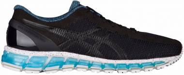 Asics Gel Quantum 360 Black Black Blue Men