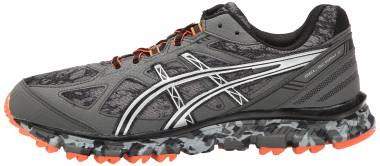 Asics Gel Scram 2 Gunmetal/Silver/Hot Orange Men