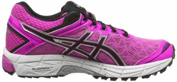 Asics GT 1000 4 GTX woman pink (pink glow/onyx/royal burgundy 3599)