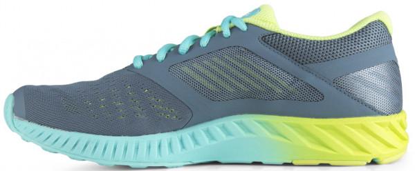 Asics FuzeX Lyte men blue mirage/white/sharp green