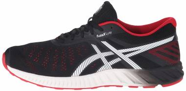 Asics FuzeX Lyte - Black/Racing Red/White (T620N9023)
