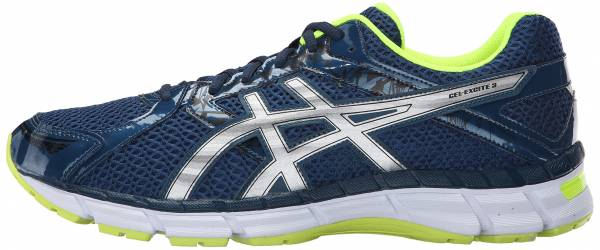 Asics Gel Excite 3 Ink/Silver/Flash Yellow