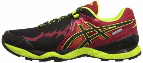 Asics Gel FujiEndurance Black/Onyx/Racing Red
