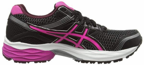 Asics Gel Pulse 7 GTX Negro (Black/Pink Glow/Royal Burgundy 9035)