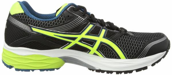 Asics Gel Pulse 7 GTX Noir (Black/Flash Yellow/Mosaic Blue 9007)