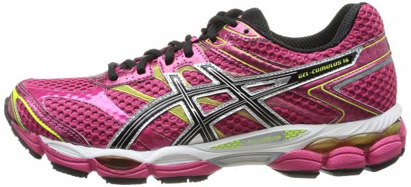 asics gel cumulus 16 ladies running shoes