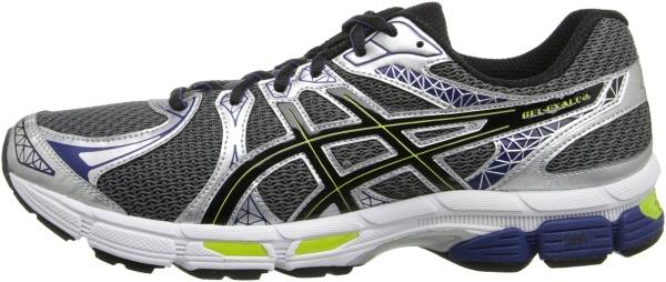 Asics Gel Exalt 2 - Charcoal/Black/Lime