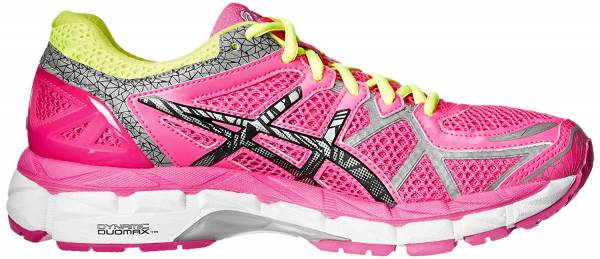 Asics Gel Kayano 21 - Hot Pink/Lite/Safety Yellow